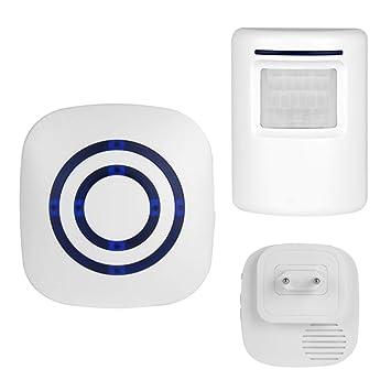 STRUGGGE Alarma con Sensor de Movimiento de Seguridad para ...