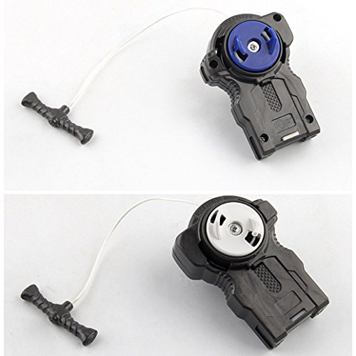JJQ-TOYS BeyLauncher Two-Way L-R Double String Power Left & Right Spin + GRIP for Battling Top Toys by JJQ-TOYS (Image #6)