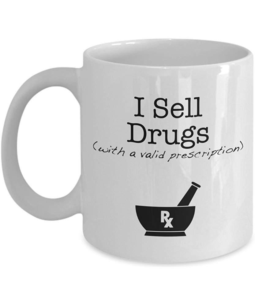 Vendo farmaci (con una ricetta valida) - Tazza da caffè farmacia ...