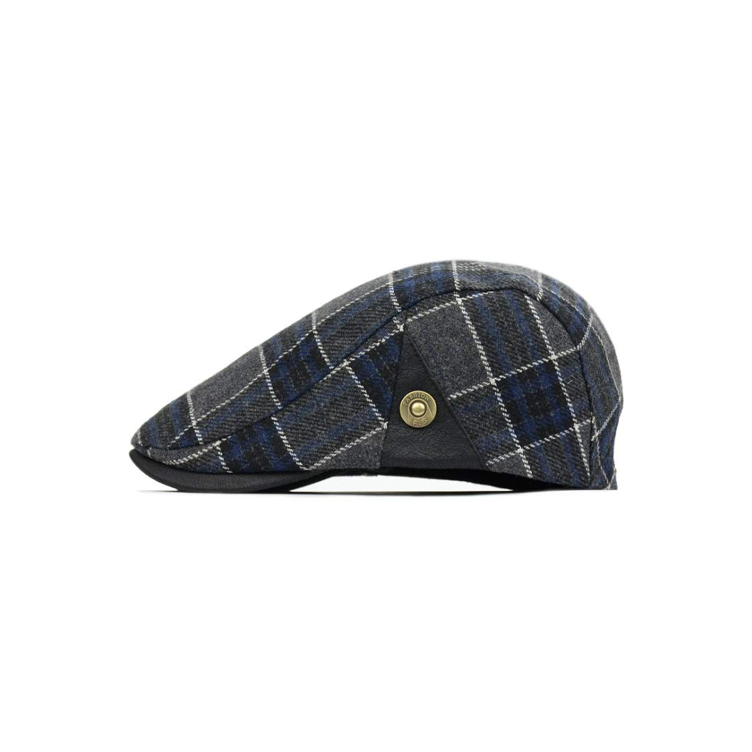 Color : B QARYYQ Woolen Cap Men Autumn Winter Beret Warm Hat Male Hat Mens hat