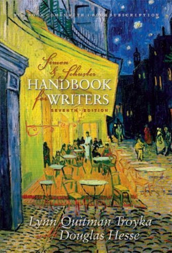 Simon&Schuster Handbook for Writers Annotated Instructor's Edition with i-Book