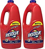 Resolve Pet Stain Remover Carpet Cleaner, 60 Ounce Refill, (Pack...