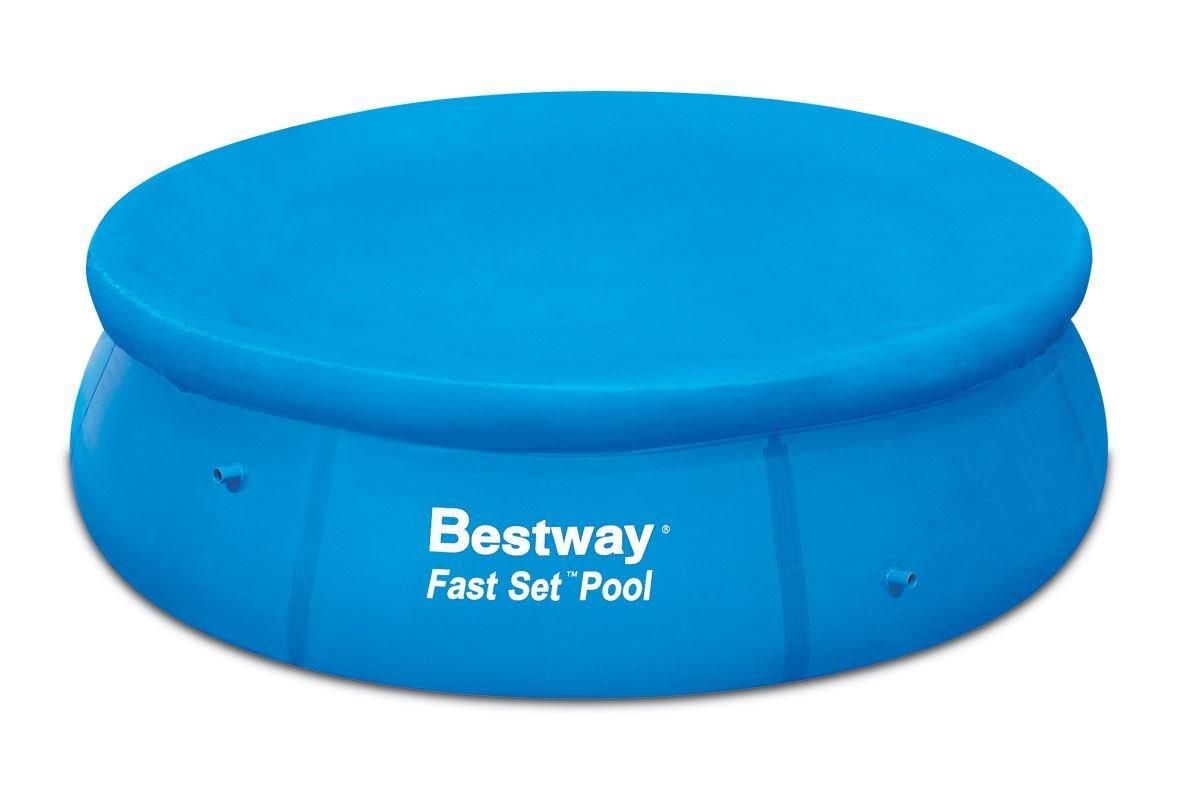 8 Foot Easy Set Swimming Paddling Pool Tarpaulin Sheet Cover Protector Bestway
