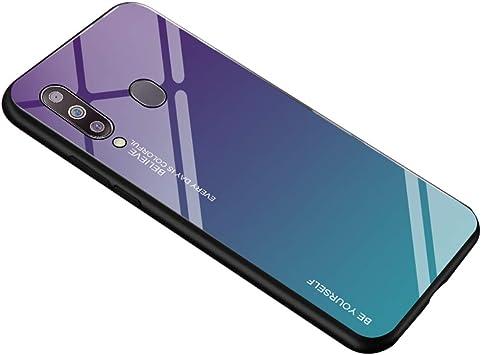 Caler Funda Vidrio Templado 9H Compatible con Samsung Galaxy M30 ...