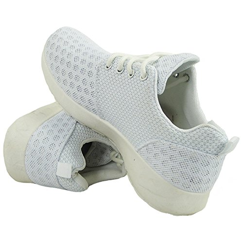 Ladies Running Trainers Womens Fitness Gym Sports Nike Juvenate Inspired Shoes 3-8 White GanP3u