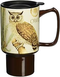 Lang 2127017 Owl Travel Mug Amazon Ca Home Amp Kitchen