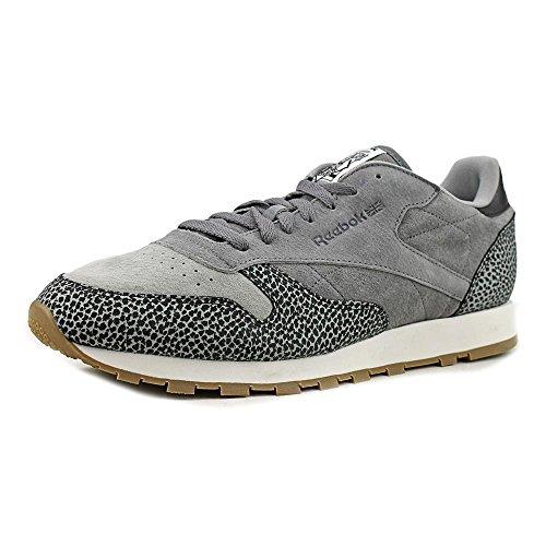 Reebok Cl Leather Piel Zapato de Tenis
