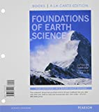 Foundations of Earth Science, Books a la Carte Plus MasteringGeology with EText -- Access Card Package, Lutgens, Frederick K. and Tarbuck, Edward J., 0321812468