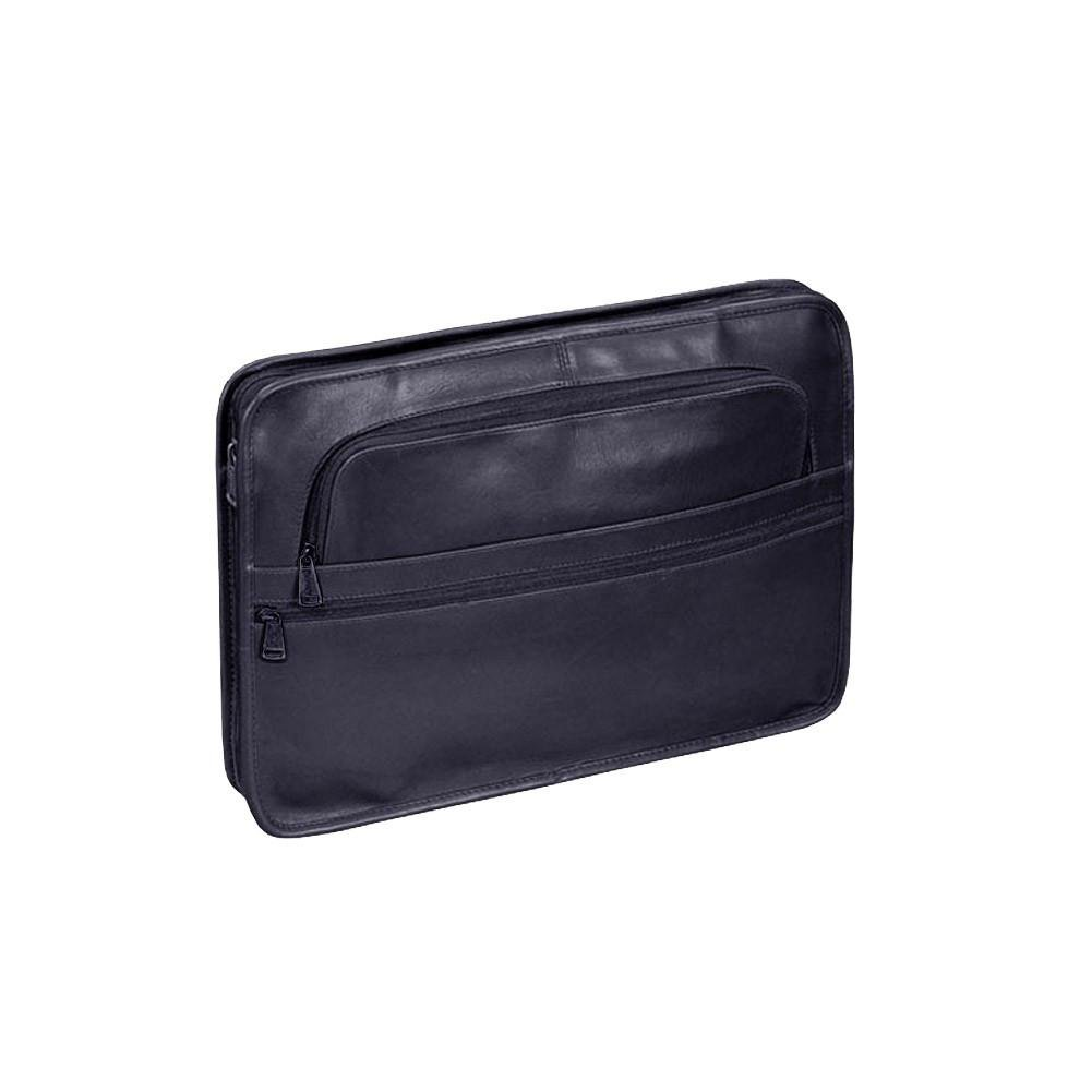Winn Top Grain Leather Underarm Portfolio, Black Winn International 3348