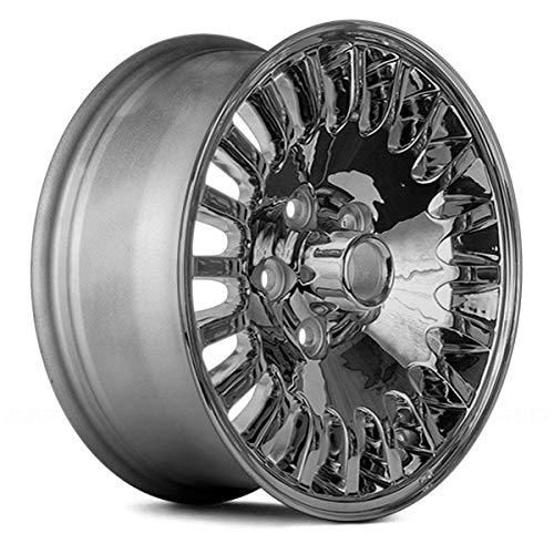Replacement 20 Spokes Chrome Factory Alloy Wheel Fits Jaguar XJ8