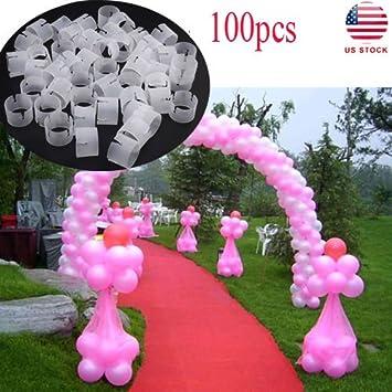 Oulii 100pcs balloon arch connectors clip ring buckle balloon flower oulii 100pcs balloon arch connectors clip ring buckle balloon flower for party wedding decoration junglespirit Images