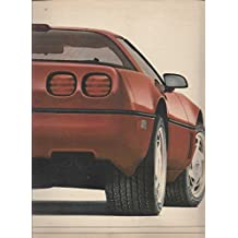 MAGAZINE ADVERTISEMENT For 1989 Corvette ZR1 2 Car Front & Rear Scene
