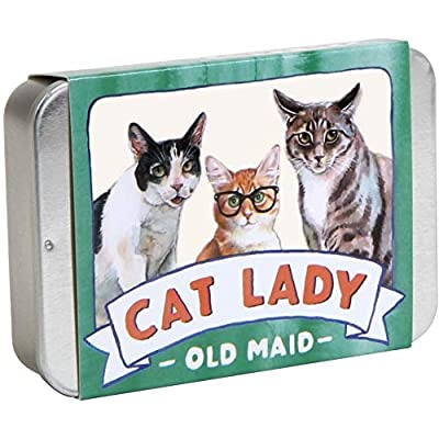 Chronicle Books Cat Lady Old Maid (Cat Gifts for Cat Lovers, Cat Themed Card Game): Kott, Megan Lynn: Toys & Games