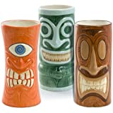Portrait Tiki Mugs Set
