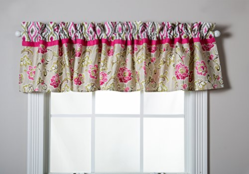 Trend Lab Waverly Jazzberry Window Valance