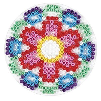 Hama 221 Midi - White Pegboard - Large Circle: Toys & Games