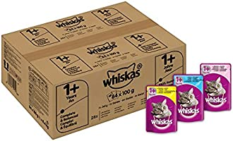 Save on Whiskas Mixed Selection in Jelly 84 pack