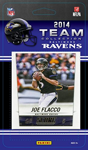 Baltimore Ravens 2014 Score NFL Football Factory Sealed 11 Card Team Set with Joe Flacco, Ray Rice, Terrell Suggs - Email Ray