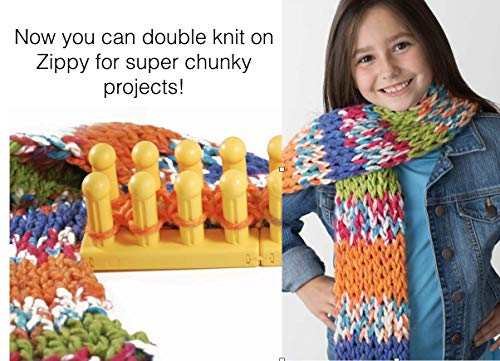 Authentic Knitting Board KB One Size Piece Zippy Corners Set 4 Easy-Connect