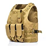 Invenko Tactical Molle Airsoft Vest Paintball