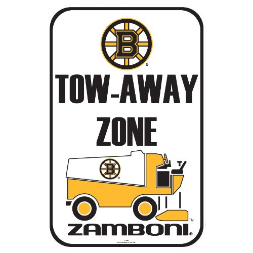 Boston Bruins Locker Room - WinCraft NHL Boston Bruins Styrene Sign, 11 x 17-Inch
