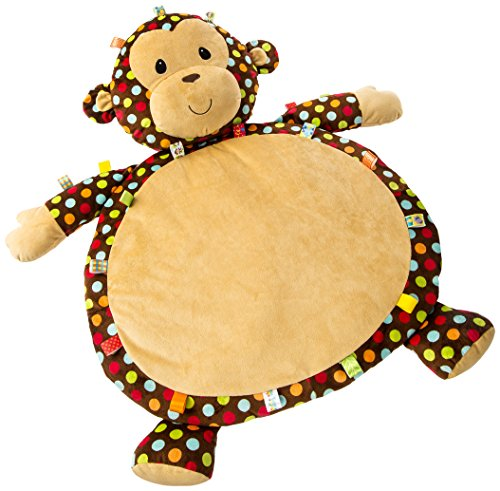 Taggies Dazzle Dots Monkey Toy, Baby Mat