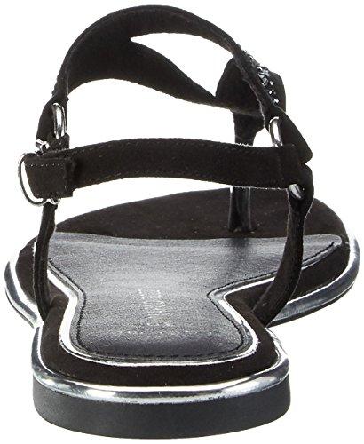 Noir Femme Marco Black 001 Sandales 28108 Tozzi w4xSgqAI