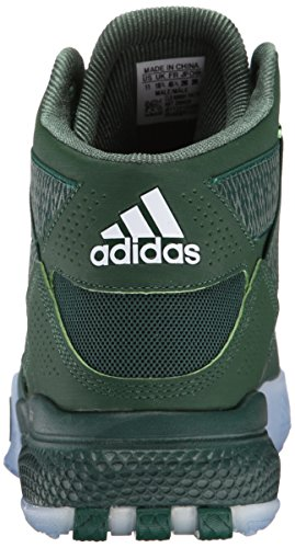 adidas Performance Hombre D Rose 773 IV zapato de baloncesto Dark Green/Black/White