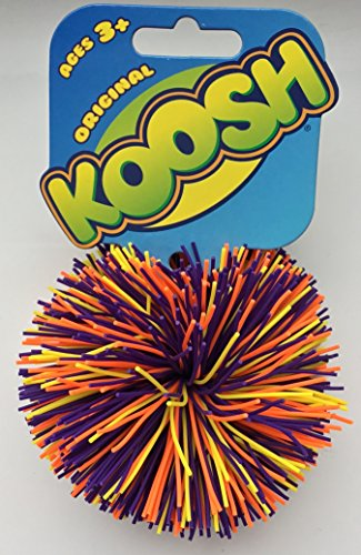 Koosh Balls - Original Balls (Purple/Yellow/Orange)