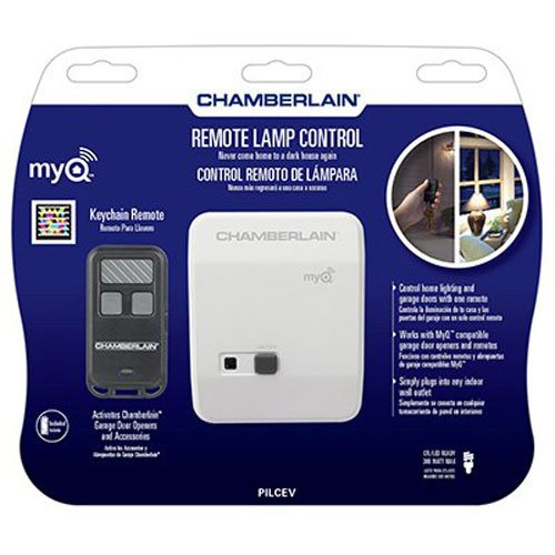 (Chamberlain PILCEV MyQ Remote Lamp Control, Control Home Lighting with Included Remote or MyQ Technology (Sold)