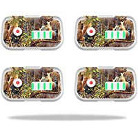 Skin For DJI Phantom 3 Drone Battery (4 pack) – Deer Pattern | MightySkins Protective, Durable, and Unique Vinyl Decal wrap cover | Easy To Apply, Remove, and Change Styles | Made in the USA