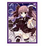 Sofina Ver.2 Ange Vierge Anime Girl Character Card Game Sleeves Collection Black World Vol.5 Volume SC-19 Illust. Inugami Kira