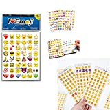 1000 stickers roll - Emoji Jumbo Stickers | 960 Most Popular Emoticons | Larger In Size | Cool, Educational and Fun
