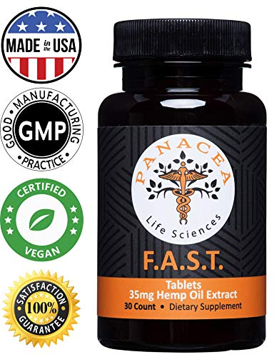 Extract Tablets (Organic Hemp Oil for Pain Relief - 35 mg Sublingual Hemp Oil Extract Tablet - Lab Tested for Increased Bio Availability - 1000 mg - Stress Anxiety Sleep Relief - Natural Anti Inflammatory Supplement)