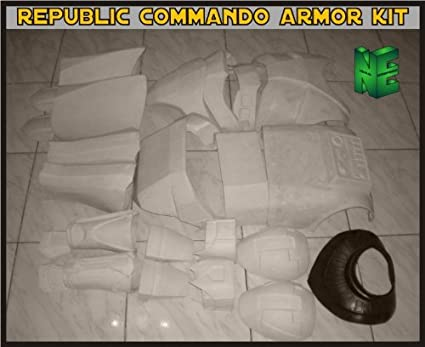 Amazoncom Clone Trooper Republic Commando Armor Kit Star Wars