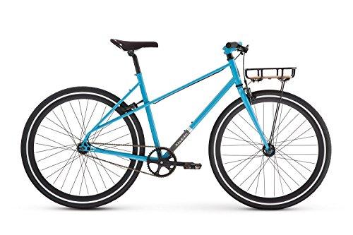 Raleigh Bikes Carlton Mixte Women's City Bike, Blue, 48cm/Sm