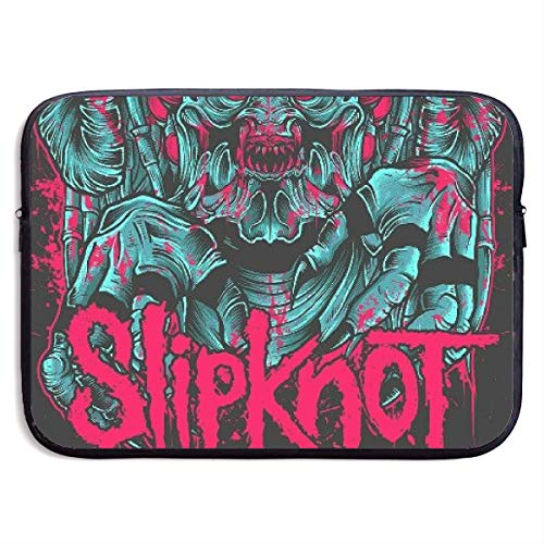 Laptop Sleeve MacBook 13 Inch 15 Inch Tablet Carrying Case Cases Slipknot Geometric Skull Mask Neoprene Compatible Notebook Computer Bag ()