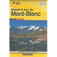 Libris Wanderkarte Mont Blanc Pocket Map (Massif and Tour) 1 : 50 000
