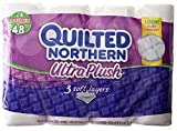 Quilted Northern Ultra Plush Bath Tissue, 24 Double Rolls