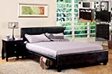 24/7 Shop at Home 247SHOPATHOME IDF-7009EK Platform-beds, King, Espresso