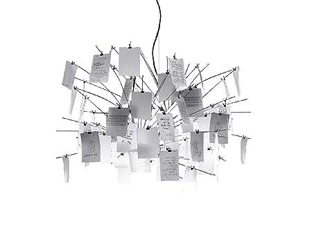 Ingo maurer zettelz 5 lampada a sospensione: amazon.it: illuminazione