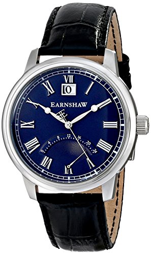 Thomas Earnshaw Men's ES-8033-02 Cornwall Analog Display Japanese Quartz Silver Watch