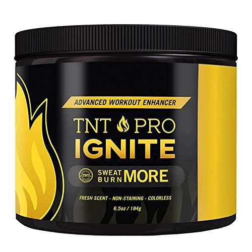 Fat Burning Cream for Belly - TNT Pro Ignite Sweat Cream for Men and Women - Thermogenic Weight Loss Workout Slimming Workout Enhancer (6.5 oz Jar)