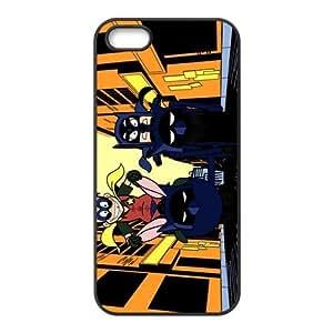 Custom Cartoon Batman Back Cover Case for iphone5,5S JN5S-249