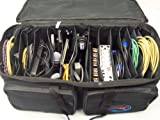 Professional Cable File Bag CFB-03 - Cable & Accessories Organizer Gig Bag / Soft Case-CablePhyle