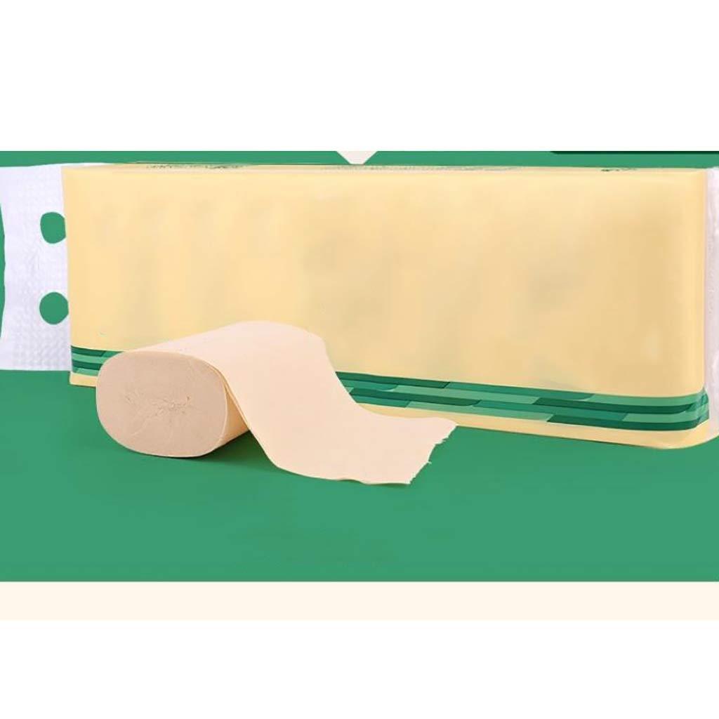 家庭用手頃な価格のトイレットペーパー - 無香料竹パルプ、4層48ロール B07RPNW1Z8