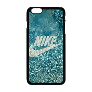 "The logo of Nike for Apple iPhone 6 Plus 5.5""Black Case Hardcore-2"
