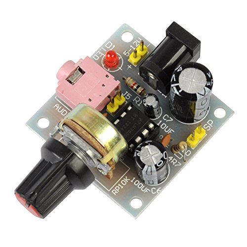 Sale!! Icstation LM386 Mini Mono Audio Amplifier Power Amp Module 5V-12V