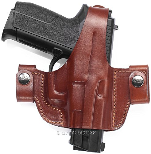 Stoeger 8045 Side Snap Leather Belt Holster (8045 Snap)