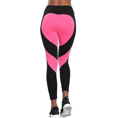 011a92d773b5e6 Joyshaper Workout Yoga Pants for Women Cutout Leggings Gym Tights Ninth  Cropped Trousers Compression(Black